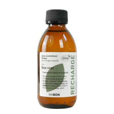100BON Bon Vent Spray Neutralisant d'Odeur Recharge 200ml