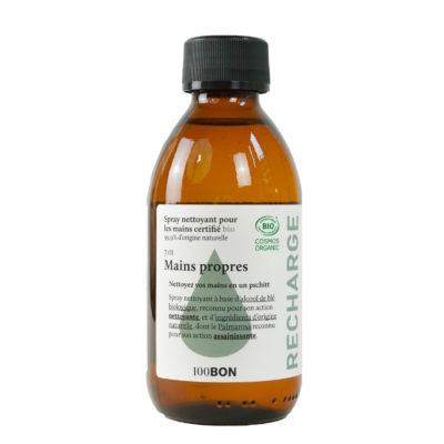 100BON Spray Nettoyant pour les mains Recharge 200ml