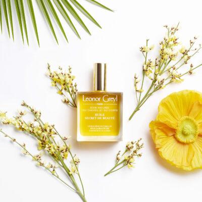 Leonor Greyl Huile Secret de Beauté avec fleurs