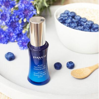 Payot Blue Techni Liss Concentré avec myrtilles