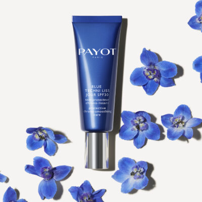 Payot Blue Techni Liss Jour SPF30 avec fleurs