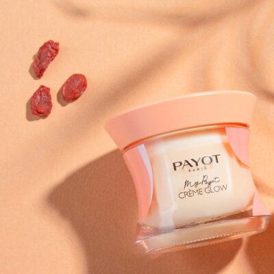 Payot - My Payot Crème Glow avec fond orange et baies