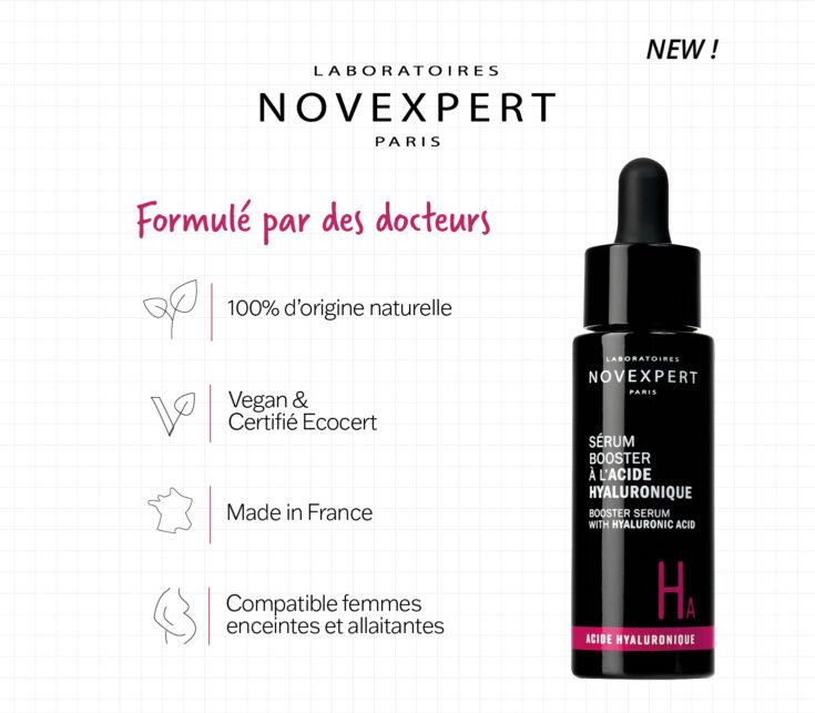 Les laboratoires Novexpert une marque 100% d'origine naturelle et végan