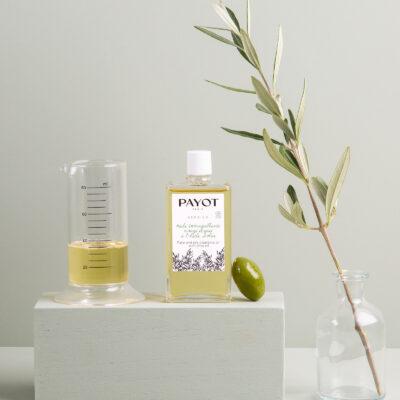 Payot Gamme Herbier Huile Démaquillante Visage et Yeux avec Huile d'Olive